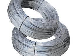Проволока 0, 4мм стальная оцинкованная термически необраб.