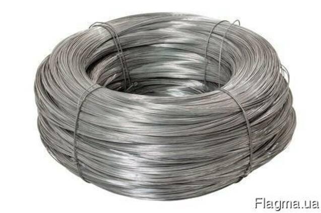 Проволока стальная низкоугл. общего назначения d 4,0 мм