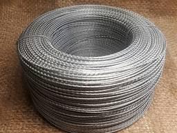Проволока пружинная 65 г диаметр 1,2 мм (рояльная, патентированная) ГОСТ 9389-75 отматывае
