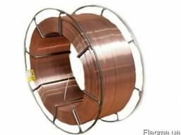 Проволока стальная сварочная (омедненная) Св08Г2С диаметром
