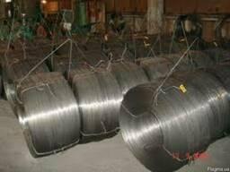 Проволока 5. 0, 6. 0 термически обработанная стальная