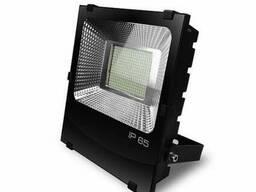 Прожектор черный с радиатором LED SMD 200W 6500