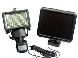 Прожектор на солнечной батарее 100 LED с датчиком движения