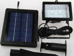 Прожектор на солнечной батарее 30 LED с датчиком, светильник,