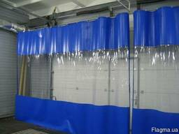 Прозрачная перегородка ткань ПВХ