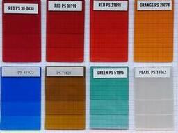 Прозрачные и флуоры красители для полистирола поликарбоната