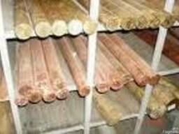 Прут бронзовий БрАЖ9-4, 16-160 в асортименте ціна купити
