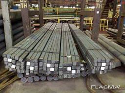 Пруток алюминиевый квадратный ПАС-2240 10х10 / AS серебро