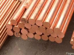Пруток мідний діаметром від 6 мм до 160 мм М1 М2 відрізаємо