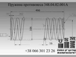 Изготовление пружин лифтового ограничителя скорости