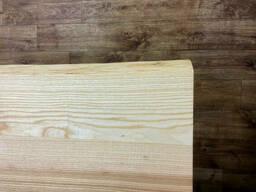 Живой край столешницы на кухню из массива дерева