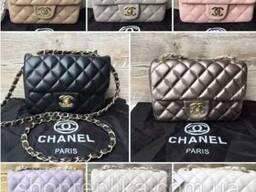 Прямоугольная сумочка Chanel mini в 8 цветах Лучшая цена