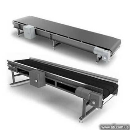 Прямой ленточный конвейер (ленточный транспортер) ТРЛп