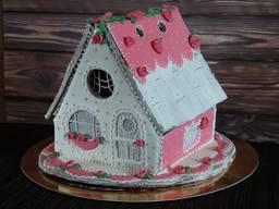 Пряничный домик подарок детям и взрослым
