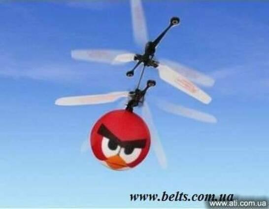 Птичка вертолет Angry Birds Helicopter