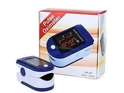 Пульсоксиметр Pulse Oximeter Jziki jzk-302 пульсометр електронный на палец оксиметр