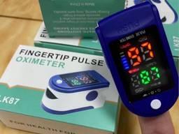 Пульсометр (Пульсоксиметр) на палец для измерения пульса