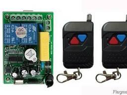 Пульт дистанционного управления 220V на 2 реле и 2 пульта