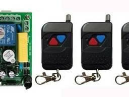 Пульт дистанционного управления 220V на 2 реле и 3 пульта