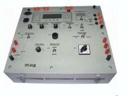 ПТ-01Д - установка с фазорег-ром для проверки сложных защит