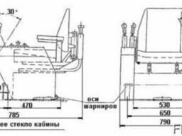 Пульт управления кранами КПУ 2-211 у2 380в 50гц ip40