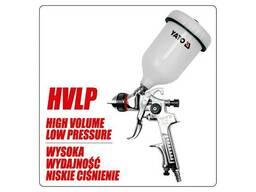 Пульверизатор YATO HVLP 1.5 з верхнім баком 0.6 л