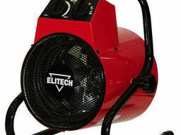 Пушка тепловая электрическая Elitech ТП 3ЕКМ