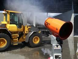 Пушка водяного тумана - системы туманообразования.