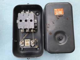 Пускатели магнитные с тепловым реле в оболочке ПМЕ 222