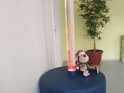 Пузырьковая колонна с пуфом