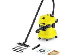 Пылесос для влажной и сухой уборки Karcher WD 4