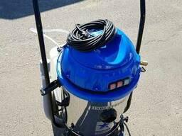 Пылесос промышленный для сухой и влажной уборки 2400 Вт - фото 4