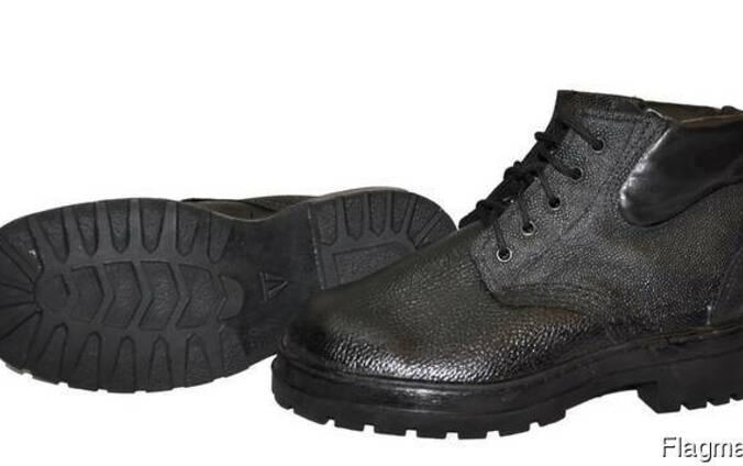 Рабочие ботинки юфть-кирза