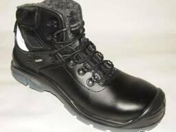 Рабочие ботинки, зимние с композ-ным носком и кевлар. стелькой
