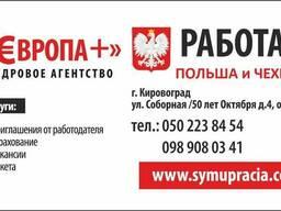 Рабочие национальные визы в Польшу под вакансию