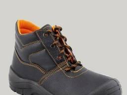 Рабочие утеплённые ботинки.