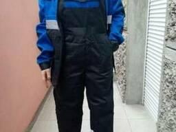 Рабочий костюм Bluejeket куртка с полукомбинезоном с свп