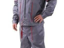 Рабочий костюм «Бригадир» (серый с красным)