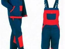 Рабочий костюм демисезонный для строителей