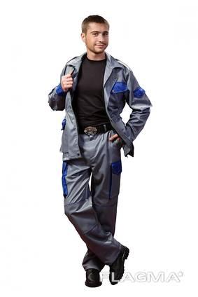 Рабочий костюм: куртка и брюки