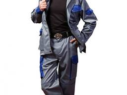 Рабочий костюм: куртка и брюки - фото 1