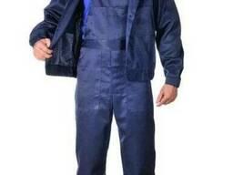 Рабочий костюм куртка и полукомбинезон, грета