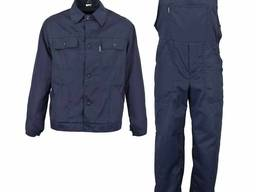Рабочий костюм, полукомбинезон и куртка