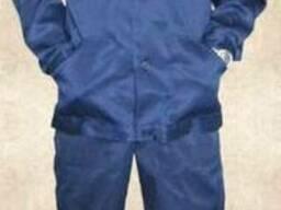 Рабочий костюм с полукомбинезоном