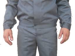 Рабочий костюм серый, спецодежда