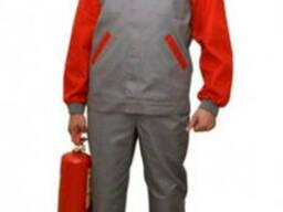 Рабочий модельный костюм. Индивидуальный пошив