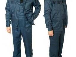 Рабочий полукомбинезон с курткой ,ткань саржа.