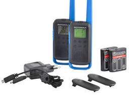 Рации Motorola Talkabout T62 BLUE TWIN PACK & CHGR WE. ..