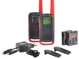 Рации Motorola Talkabout T62 RED TWIN PACK & CHGR WE. ..
