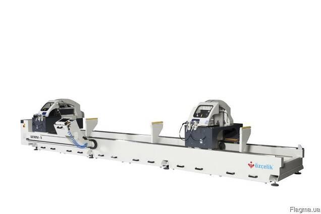 Радиальный двухголовый станок для резки Ø 550 мм Gemini - X